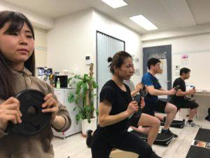 2020年1月23日(木)/基礎から学ぶウェイトトレーニング08