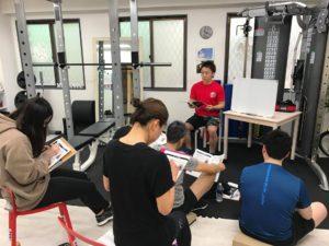 2020年1月23日(木)/基礎から学ぶウェイトトレーニング01