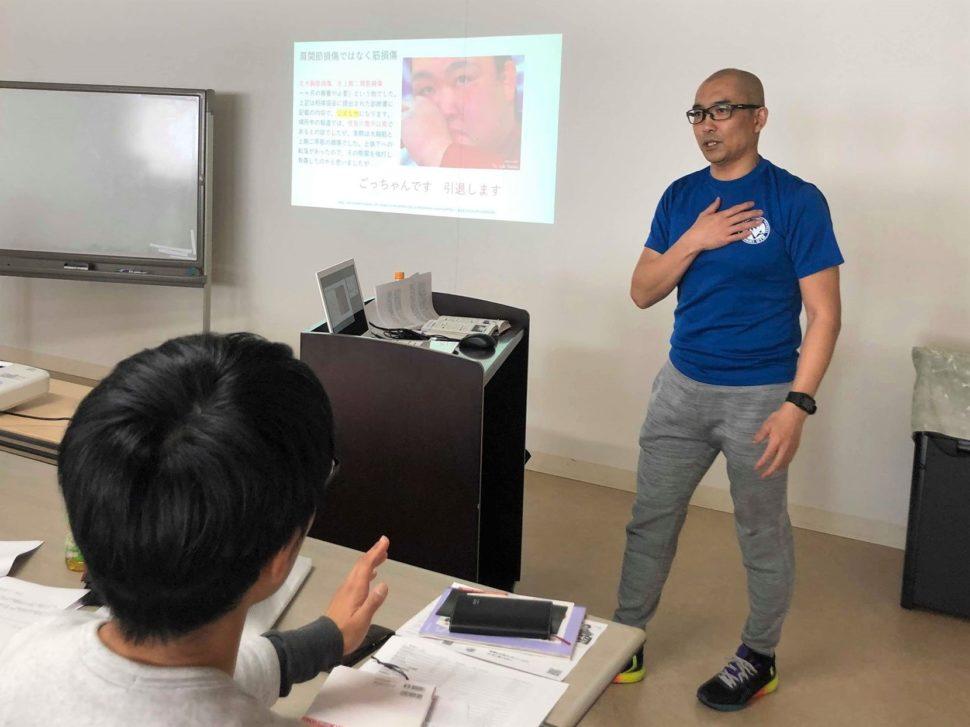 怪我の原因や予防法を学べる基礎から学ぶスポーツ障害(東京)05