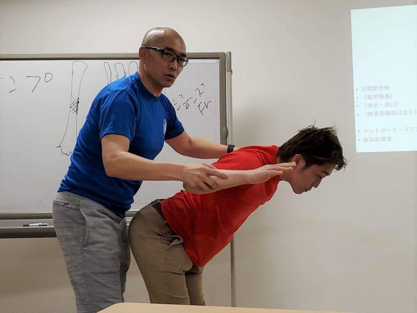 怪我の原因や予防法を学べる基礎から学ぶスポーツ障害(東京)07