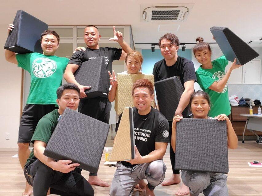 ストレッチ&エクササイズで使えるフレックスクッション(沖縄)01