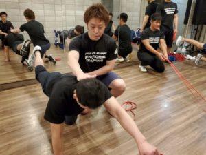 人間本来の動きを取り戻すファンクショナルトレーニング08