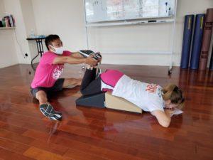 自重で体幹強化!自重&ペアトレーニングセミナー03