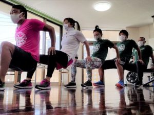 自重で体幹強化!自重&ペアトレーニングセミナー05