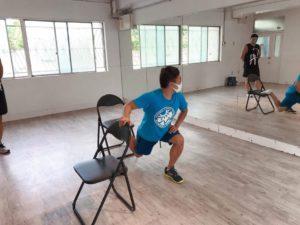 自重トレをマスターできる自重&ペアトレーニングセミナー02