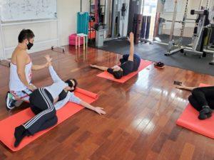 正しい姿勢で動く方法を学べるファンクショナルトレーニングベーシックコース01