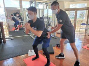 正しい姿勢で動く方法を学べるファンクショナルトレーニングベーシックコース02