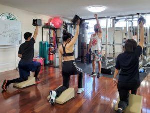 正しい姿勢で動く方法を学べるファンクショナルトレーニングベーシックコース05