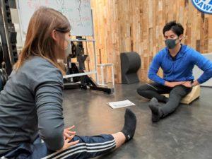 座るだけで正しい姿勢を作るフレックスクッション・ストレッチ&コンディショニング講習会04
