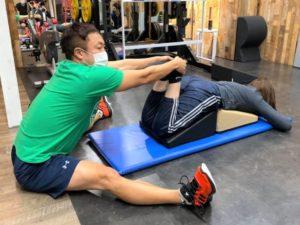 座るだけで正しい姿勢を作るフレックスクッション・ストレッチ&コンディショニング講習会06