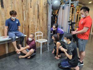 コンディショニングを整えパフォーマンスを高める!足と足首のコンディショニング講座03
